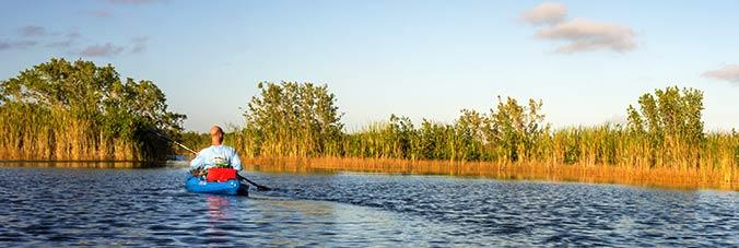 Kayaktour durch die Everglades