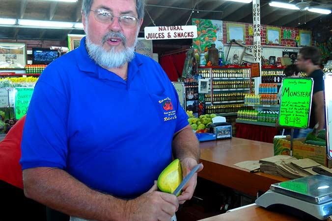 Robert is here! Obst- und Gemüseladen