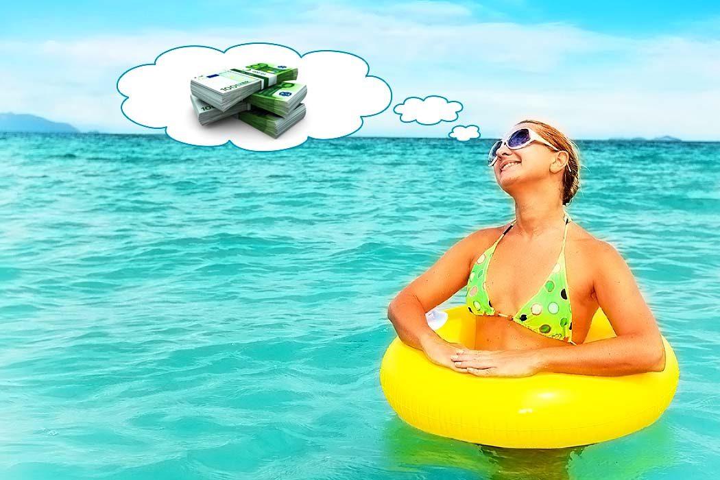 Reisen und Geld verdienen