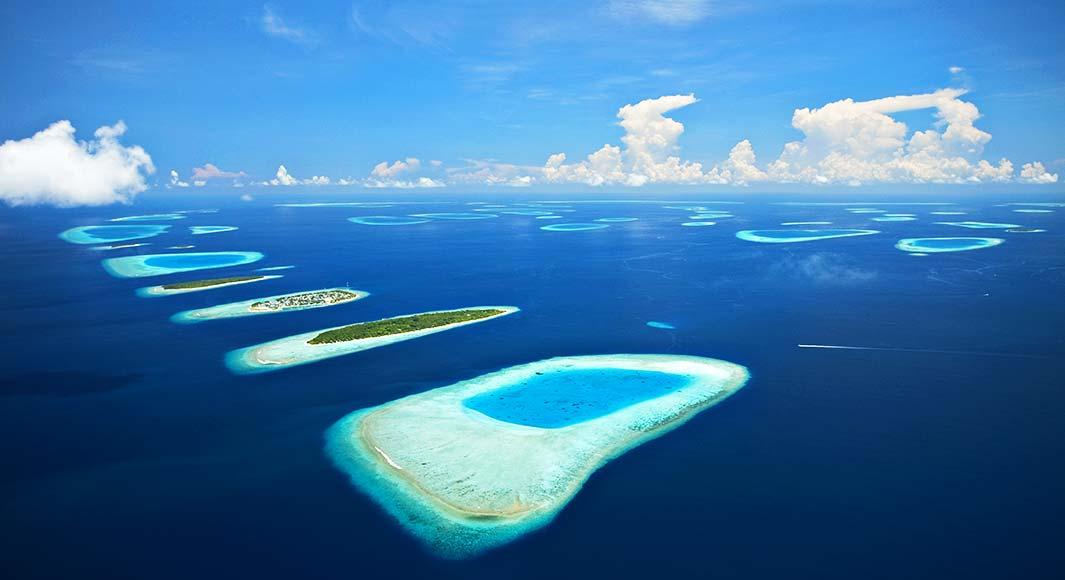 Atolle der Malediven