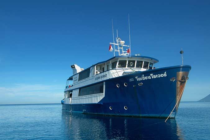 Ocean Rover - unser Safariboot