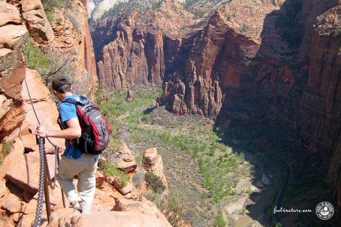 Angels Landing Trail - Zion NP, USA