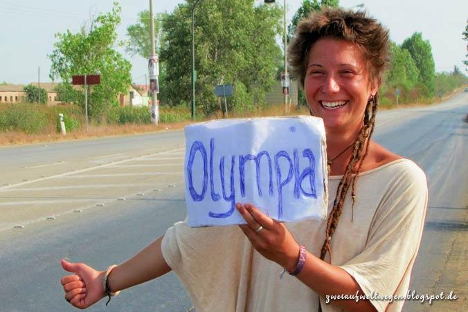 Anhalter nach Olympia