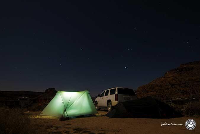 Mojave Camping