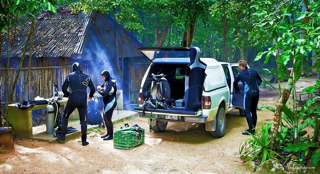 Cenote Adventures Tauchplatz