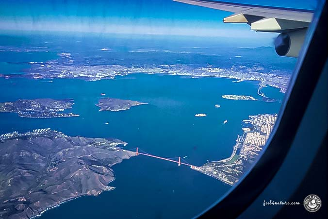 Landeanflug - San Francisco