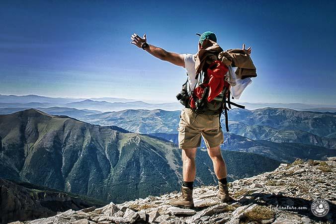Ziel erreicht - Berg