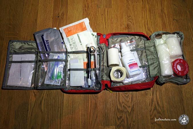 Reiseapotheke - Erste Hilfe Set