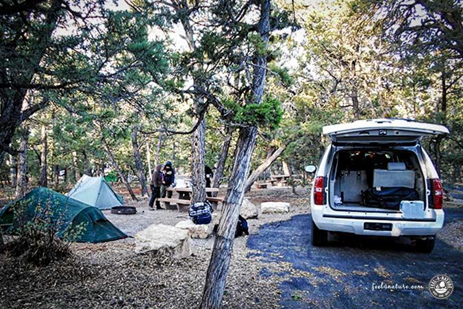 Camping Grand Canyon