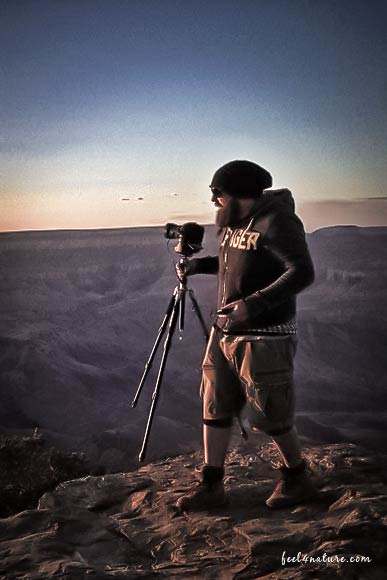 Grand Canyon Sunset Fotosession