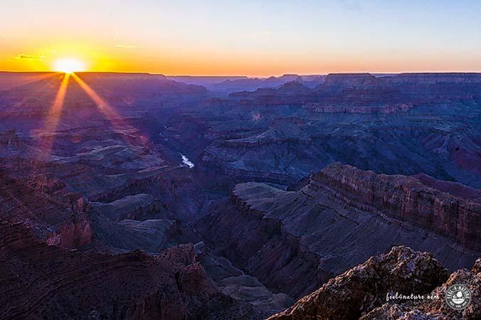 Sonnenuntergang Grand Canyon