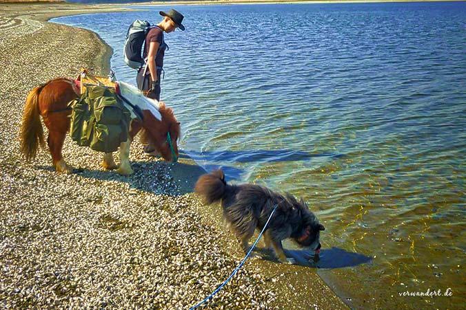 Wanderpause für Mensch & Tier
