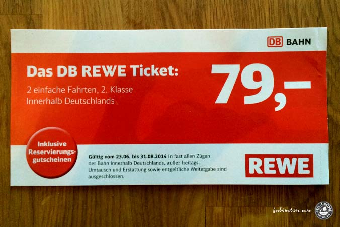 Rewe DB Ticket