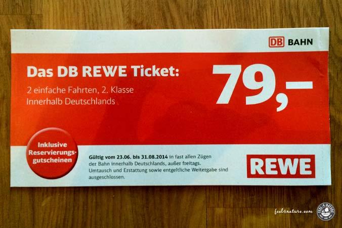 Rewe DB Ticket