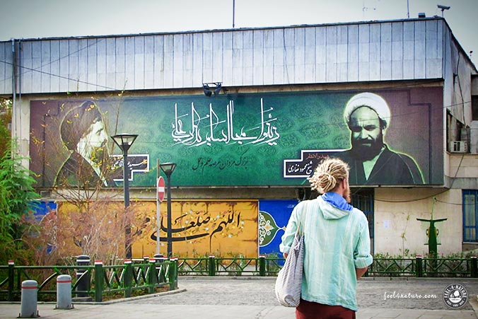 Zwei auf Weltwegen - Tehran