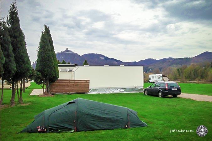 Rheinsteig Camping Drachenfels