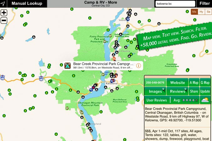 Roadtrip - USA Camping App