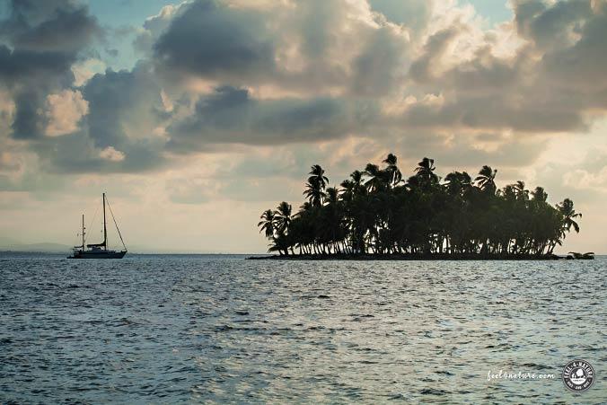 Abendstimmung San Blas Inseln