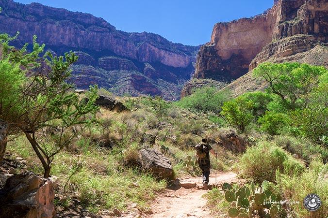 Aussteigen Wandern