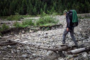 Fast ohne Geld auf dem E5 über die Alpen wandern