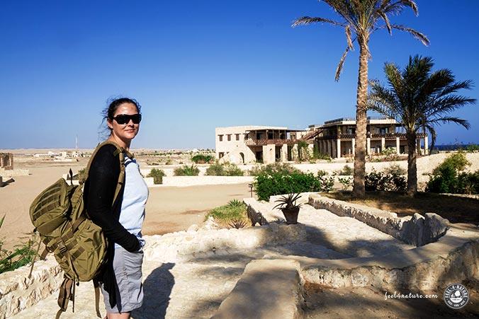 Unterwegs im The Oasis Resort