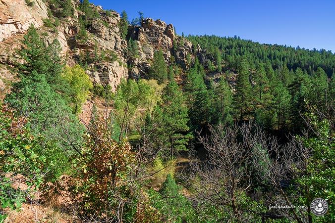 Phantom Canyon Road - Ausblick