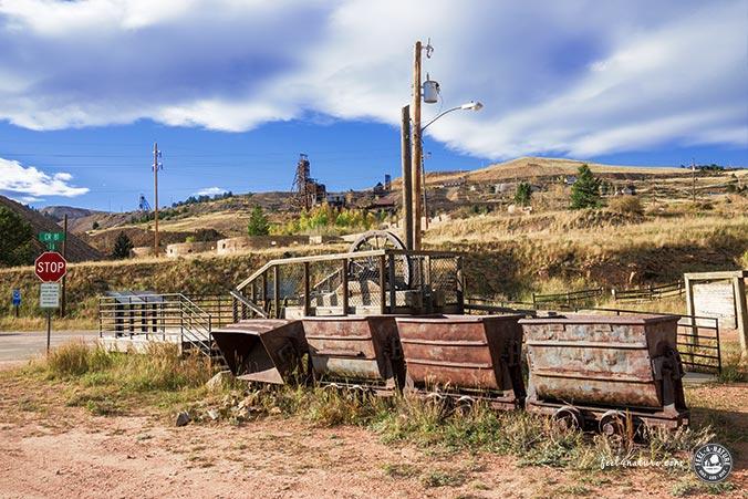 Phantom Canyon Road - Minen