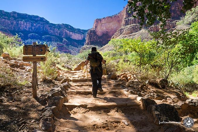 Aufstieg - Bright Angel Trail