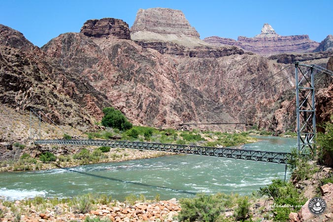 Colorado River - Bright Angel Trail