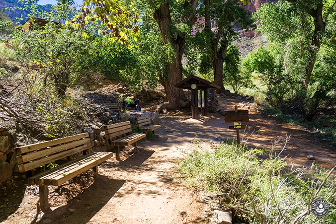Bright Angel Trail - Indian Garden