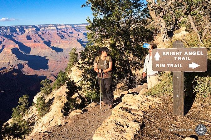 Bright Angel Trail - Ziel