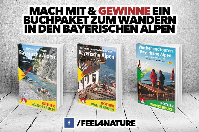 Gewinnspiel Bayerische Alpen Wandern