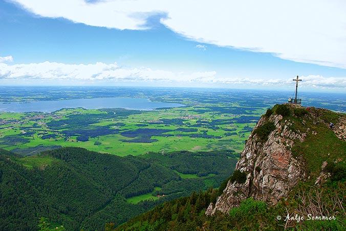 Bayerische Alpen - Chiemsee