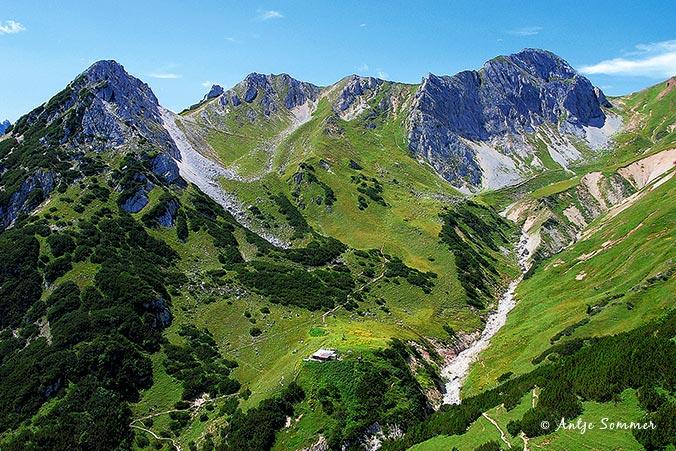Bayerische Alpen Wannigjoch