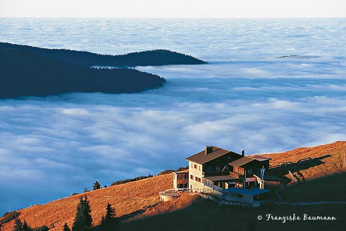 Wolkenmeer Bayerische Alpen