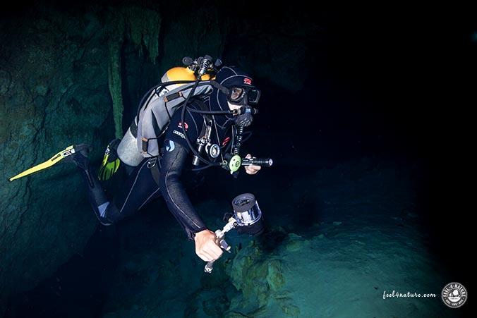 Höhlentaucher - Mexico