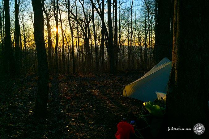 Campsite Appalachian Trail