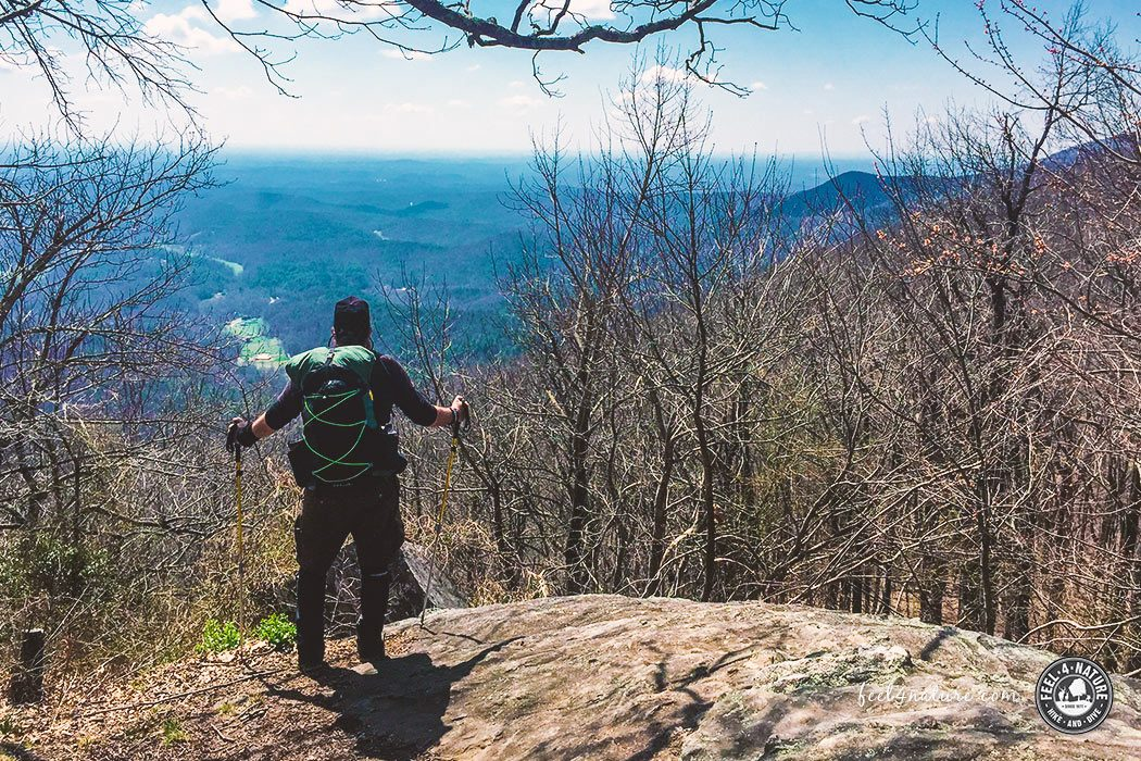 Appalachian Trail Ausblick