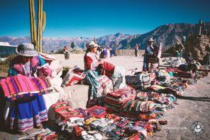 Auf Colca Canyon Tour zum Wandern in Peru