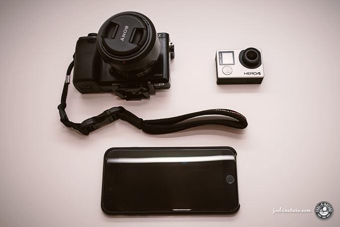 Trekking Kamera Set