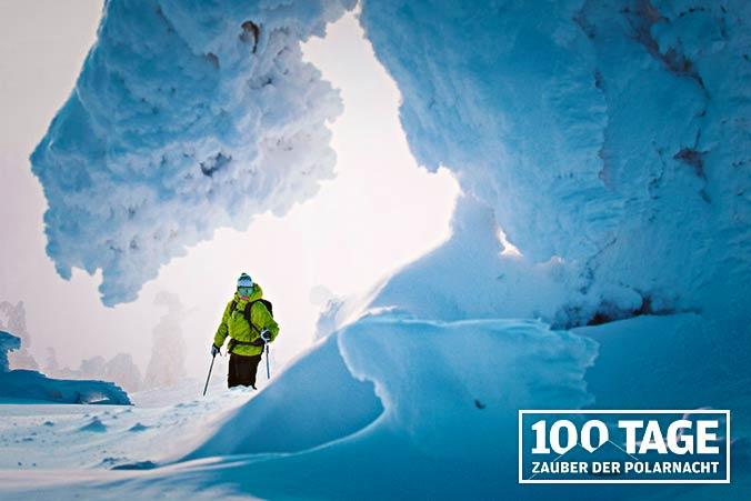 Schneeschuhe Finnland