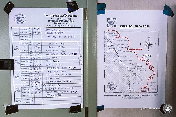 Tauchsafari Ägypten Samira Route