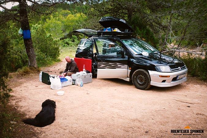 Wild Campen Auto