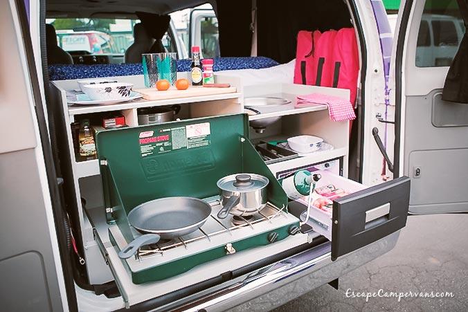 Mavericks USA Camper Küche