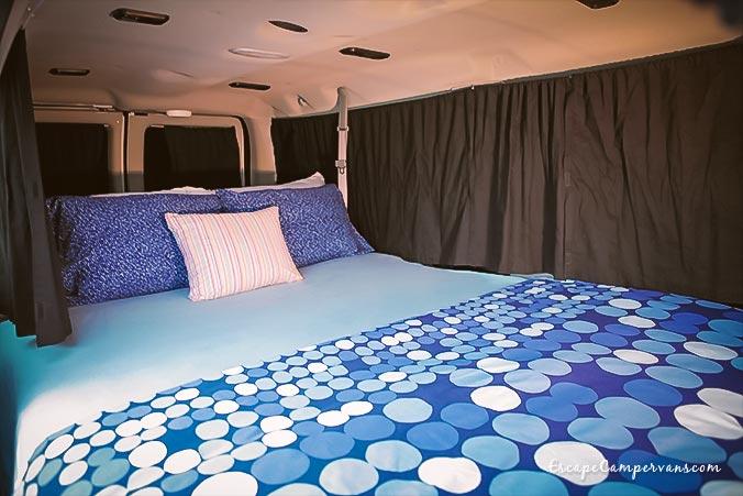 USA Camper Mavericks Schlafplatz