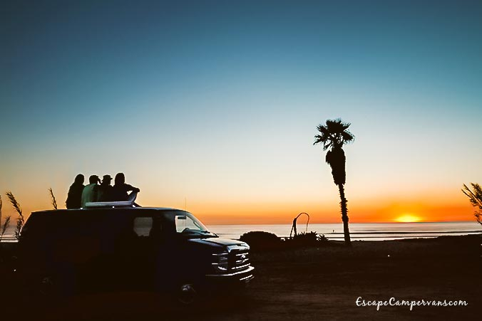 Escape Campervans Sunset