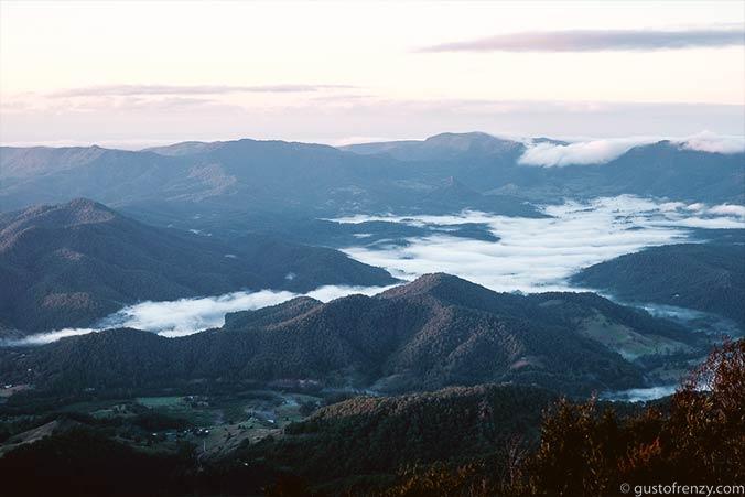Besteigung Mt. Warning