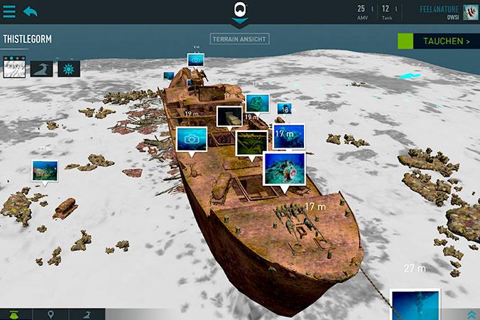 Thistlegorm 3D Ansicht