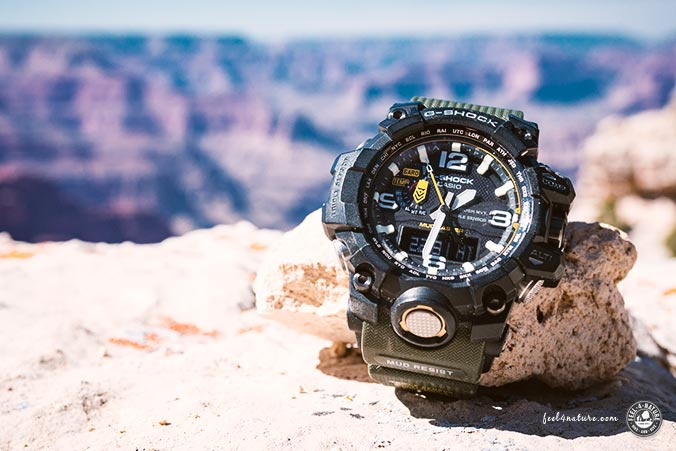 Mudmaster G-Shock Unterwegs