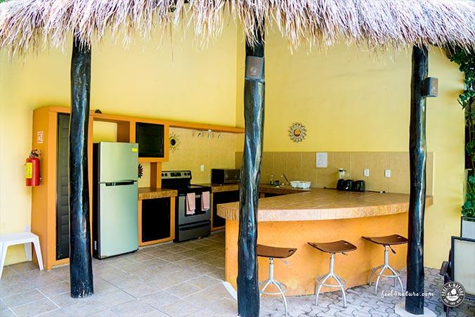 Küche LunaSol Hotel